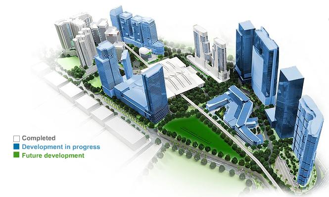 Kuala Lumpur (KL) Sentral Master Plan Overview