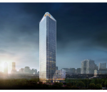 TSLaw Tower is located next to TRX