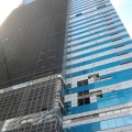 A glance of the Menara CIMB construction progress expected to complete 4Q2012