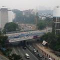 Wisma UOA Damansara is right next tot he Semantan MRT station