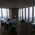 Menara shell office space with full glass windows