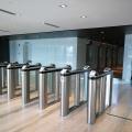 Menara Prudential office lobby