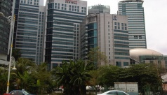 Plaza Sentral Office is located in KL Sentral MSC Cybercentre area